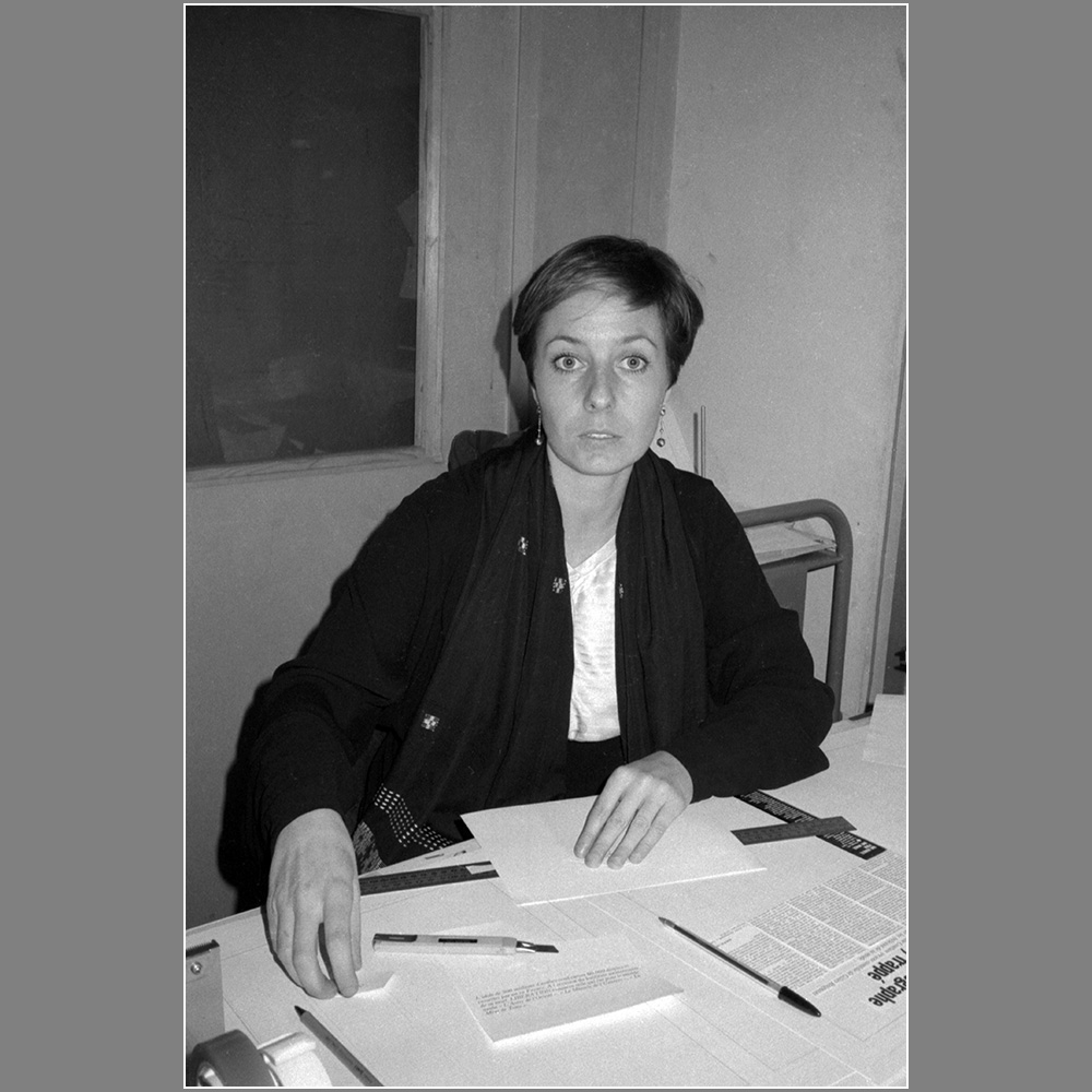 Frédérique Goursolas, 1983 ( © Photo Christian Poulin - 0475)